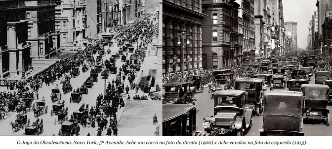 Jogo da Obsolescencia-Nova York 1900_Cavalos x Carros